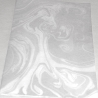 quick and easy marbled paper