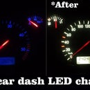 Car Dashboard LED Change ( Golf mk4 )