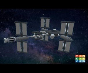 Create a Space Station in TinkerCad Codeblock||Easy Tutorial