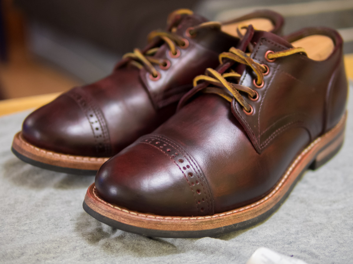 Dye Your Shoes (or Other Leather Goods