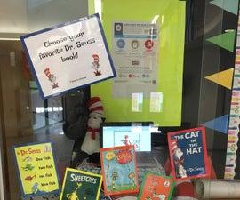 Makey Makey Dr. Seuss Book Vote