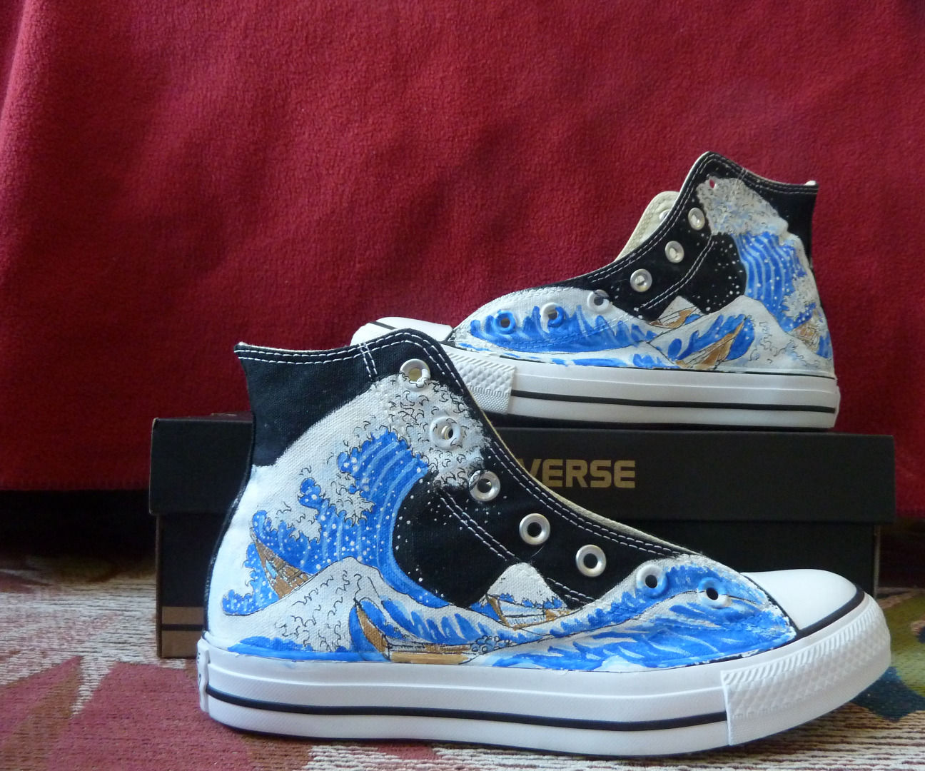 Painted Converse: Shoe Makeover : 7