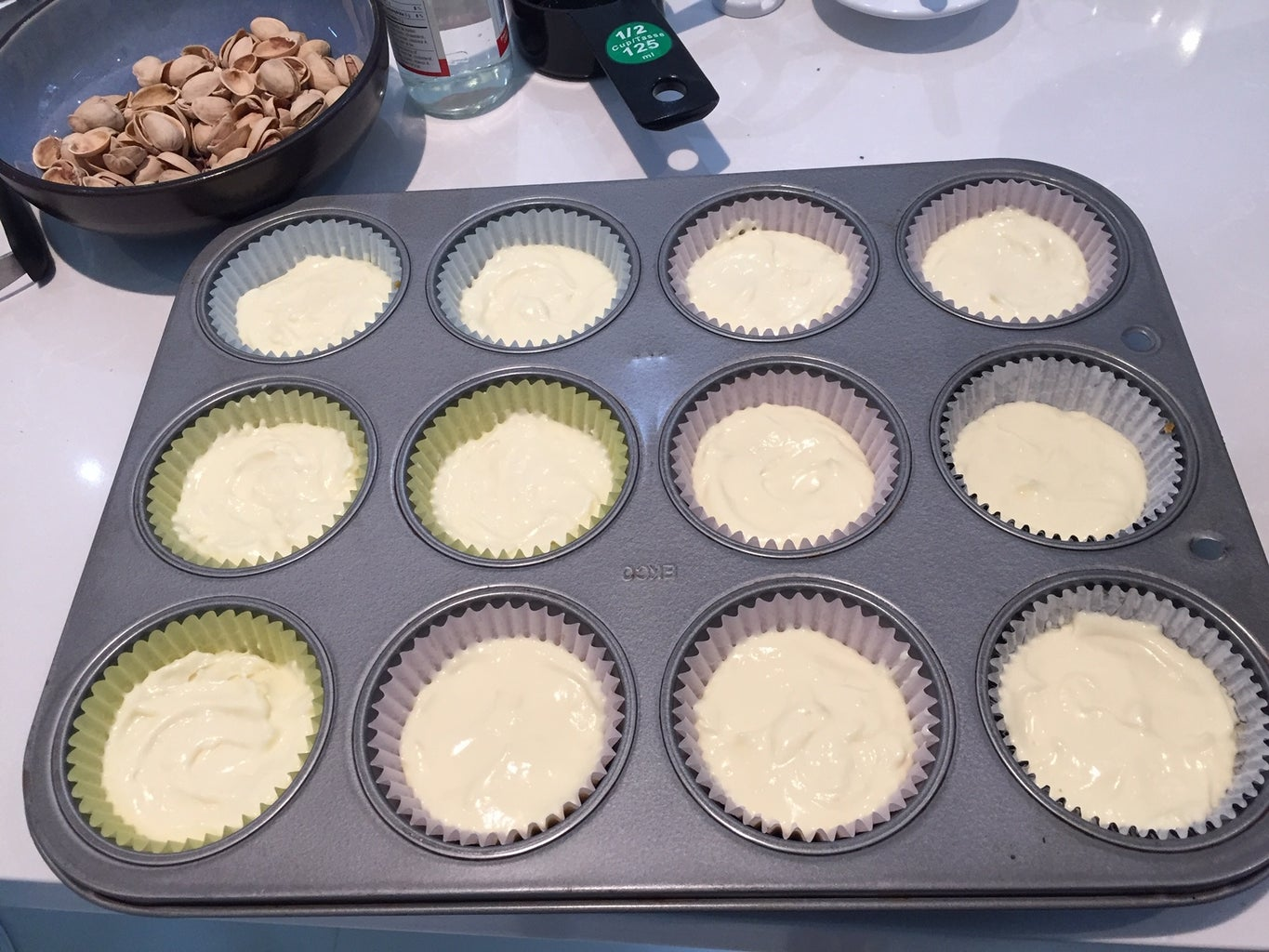 Assemble the Cheesecake Cups.