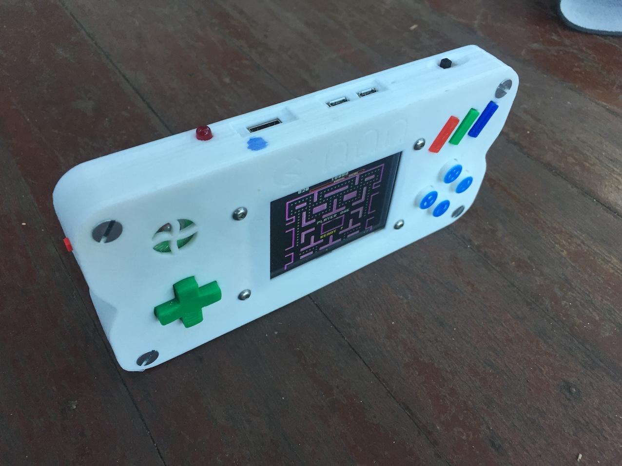 $20 Portable Raspberry Pi Game Console
