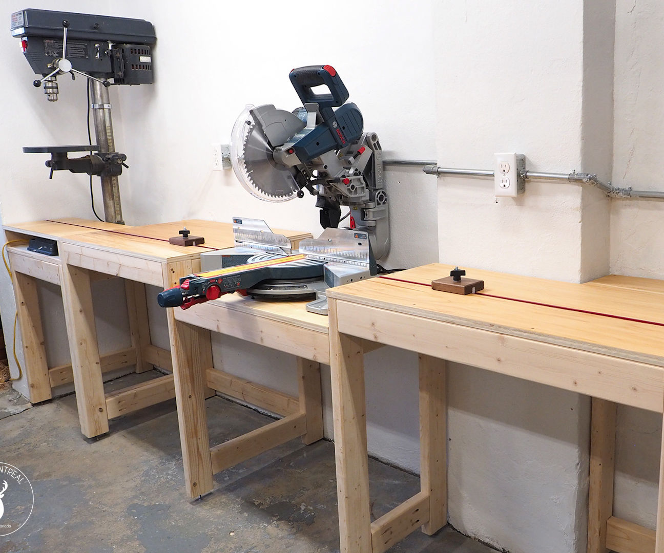 Miter Saw Station (plans Available)