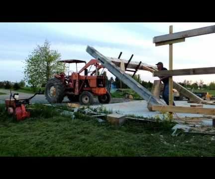 Raising a Large Timbered Bent...Alone