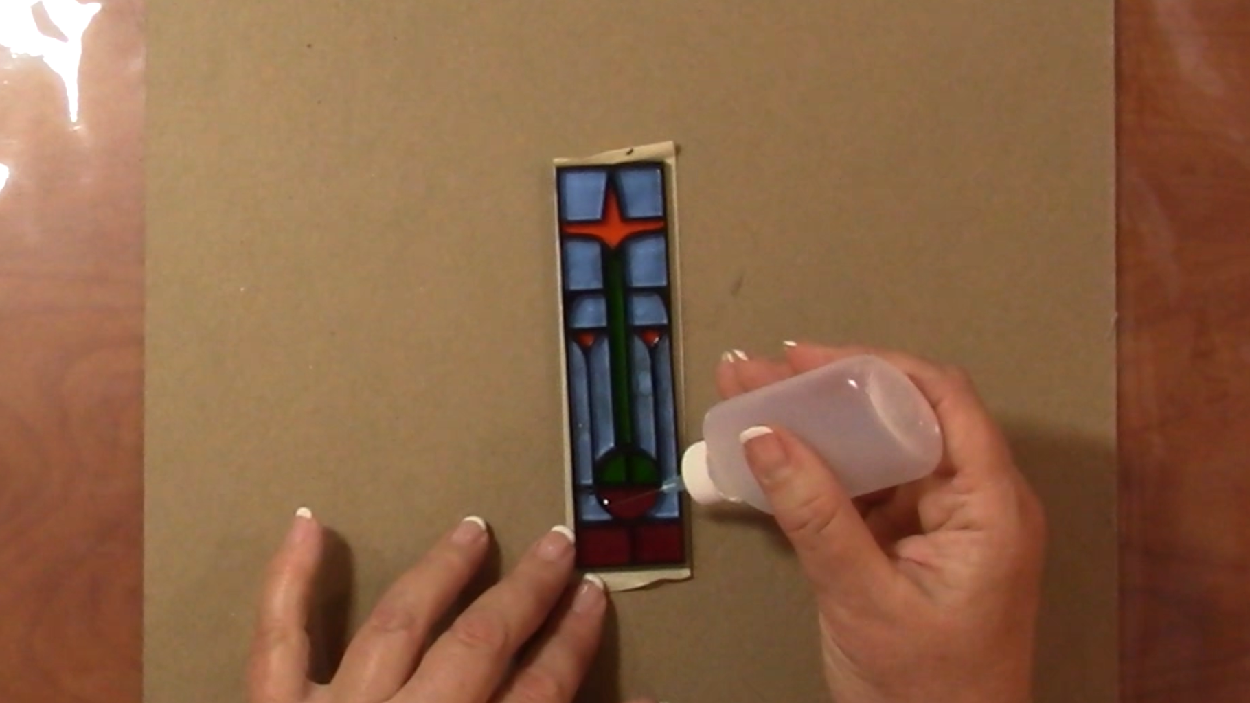 Assemble the Stained Glass Windows
