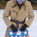 WWII Captain America Costume