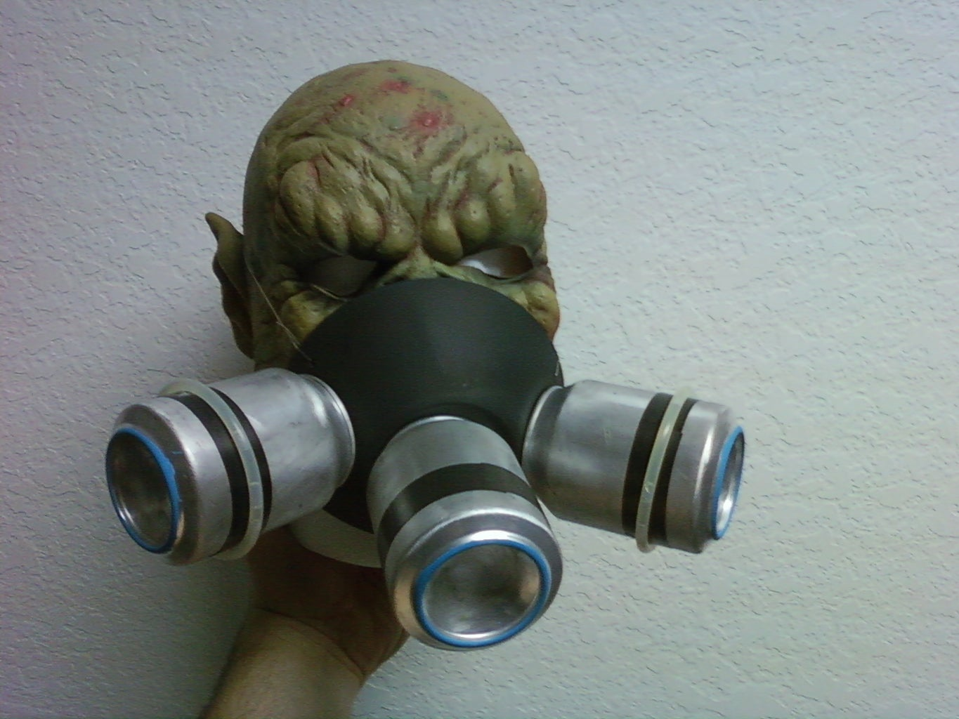 Gas Mask and Ear Guard