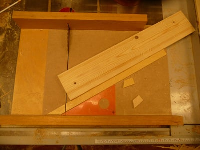 Cutting Fixture for the Side Pieces.