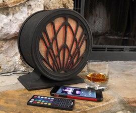 Art Deco Speaker With Amazon Echo Dot