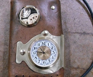 Making a Steampunk Portable Harddrive Case