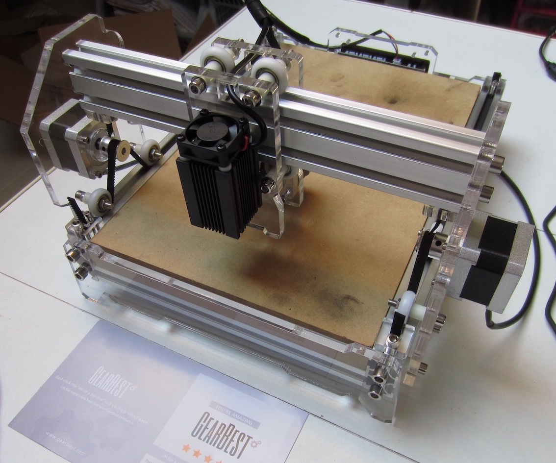 Chinese Laser engraver 2.5w A5