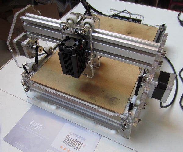 Laser Engraver 2.5w A5