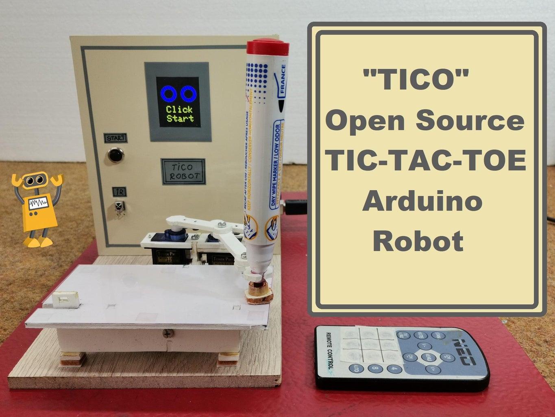 TICO Open Source Tic-Tac-Toe Arduino Robot