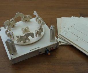 BOXOI - an Open Source Miniature 3D Zoetrope DIY Kit