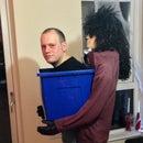 Man in a box Halloween costume