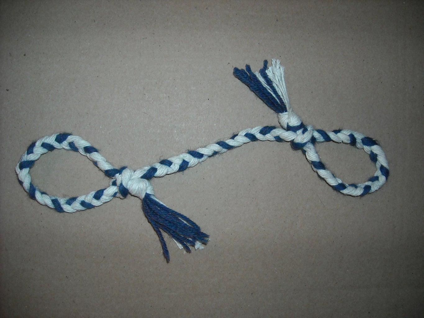 How to Make a Yarn Dog Toy