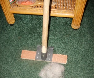 Effective Low Cost Carpet Rake