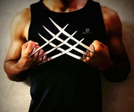 Wolverine Claws (Steel)