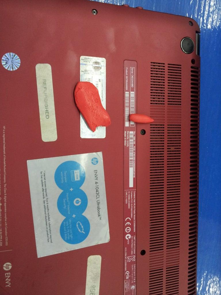 Mejorar El Enfriamiento En Laptop Con SUGRU //  Improve Cooling Laptop With Sugru