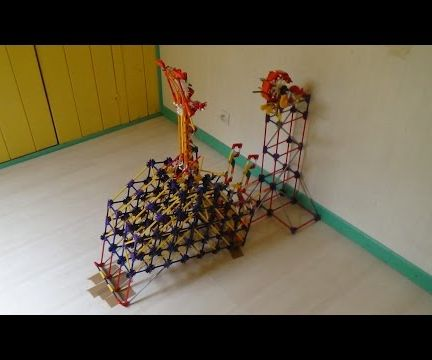 K'nex Ball Machine Lift: Giant Ball Catapult