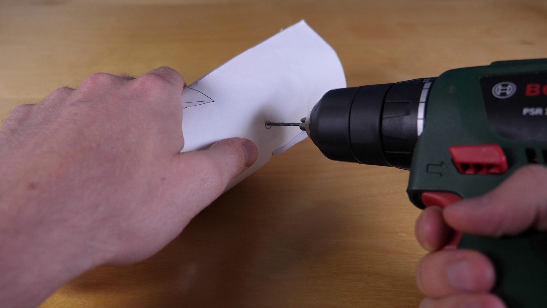 Cut and Drill Plastic Bottle