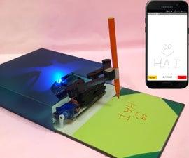 迷你绘图机器人 -  Live Android应用程序 -  Trignomentry
