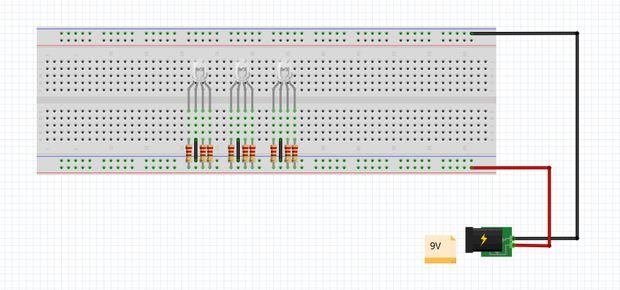 Construction LED Circuit