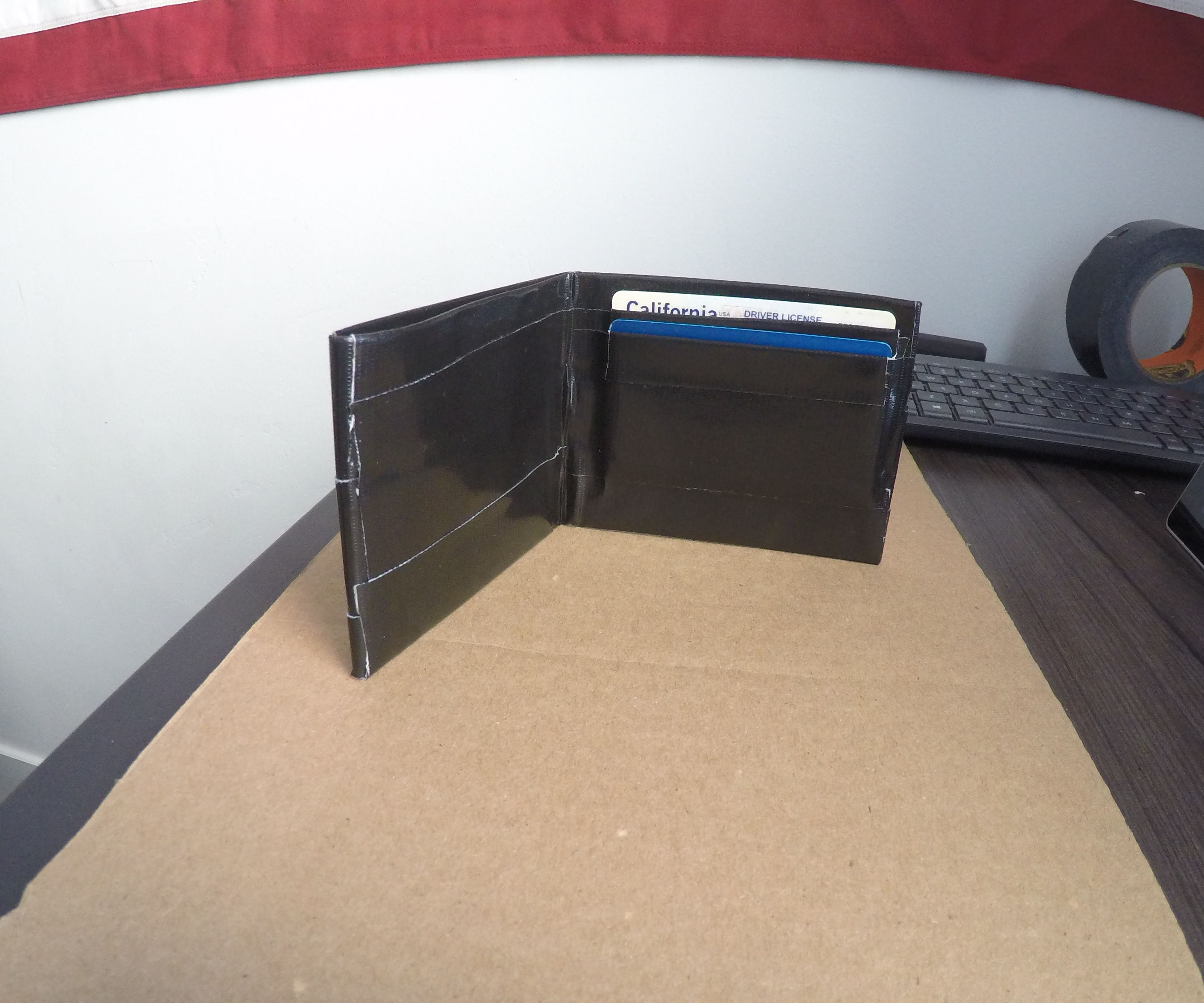 Gorilla Tape Wallet With Card Slots