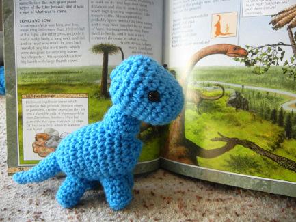 Baby Brachiosaurus Crochet Pattern