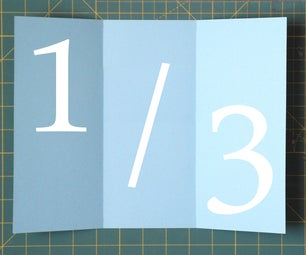 Folding Paper Into Thirds