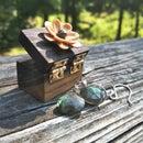 Miniature Flower Gift Box
