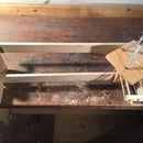Camera Slider With Rotation, Wooden Prototype