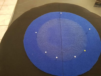 Adding the Colour Felt Targets