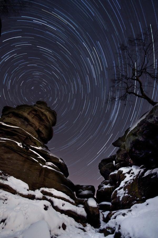 Shooting Star Trails