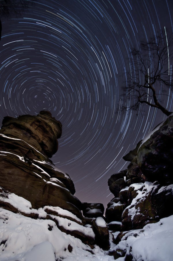 Shooting Star Trails