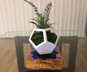 Magnetic Levitating Flower Pot