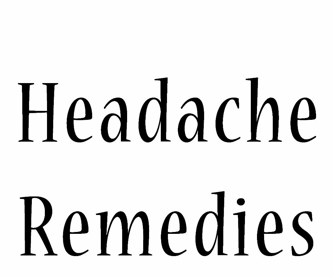 How to Rid Yourself of a Headache