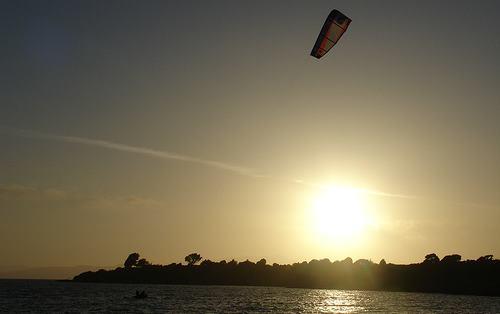 Instant Kite Boat