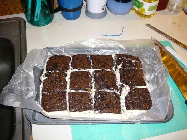 Brownie IceCream Bars