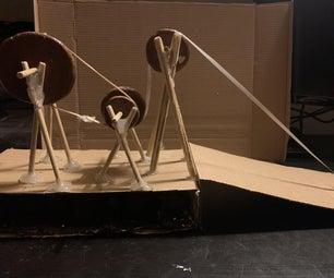 原型粘土滑轮/齿轮系统
