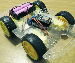 Voice Controlled WiFi Car