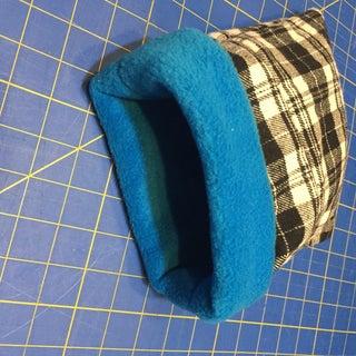 Reversable Hedgehog Snuggle Bag