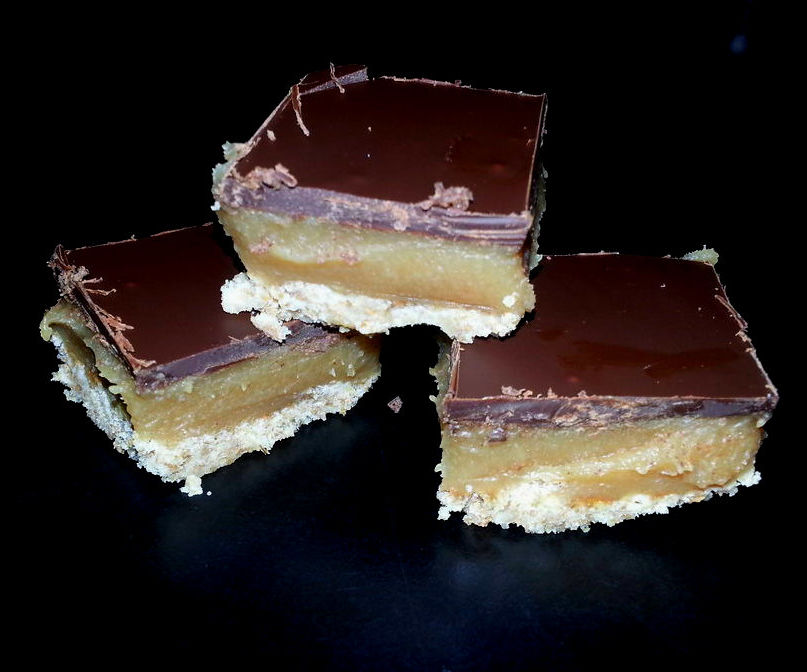 Homemade 'Mars Bars'