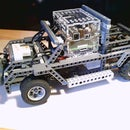 The Covid-19 Delivery Truck - Legos and Scratch Programming