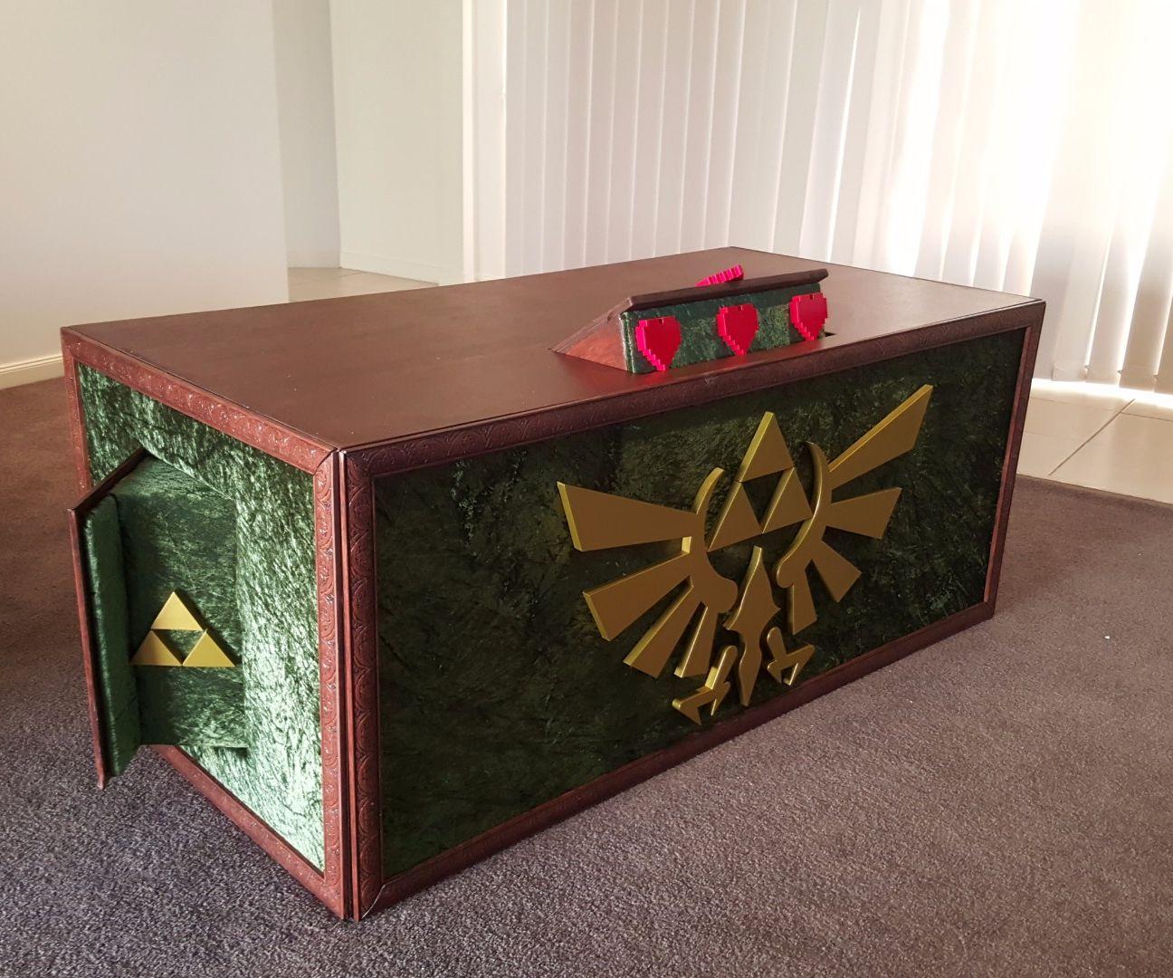 Legend of Zelda Surround Sound Tv Cabinet