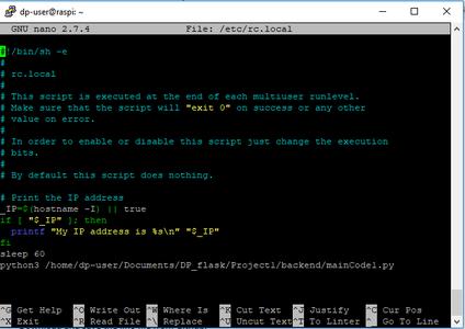 Step 10: Autorun the Python Code
