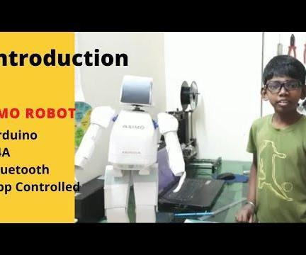 Asimo Based on S4A Software