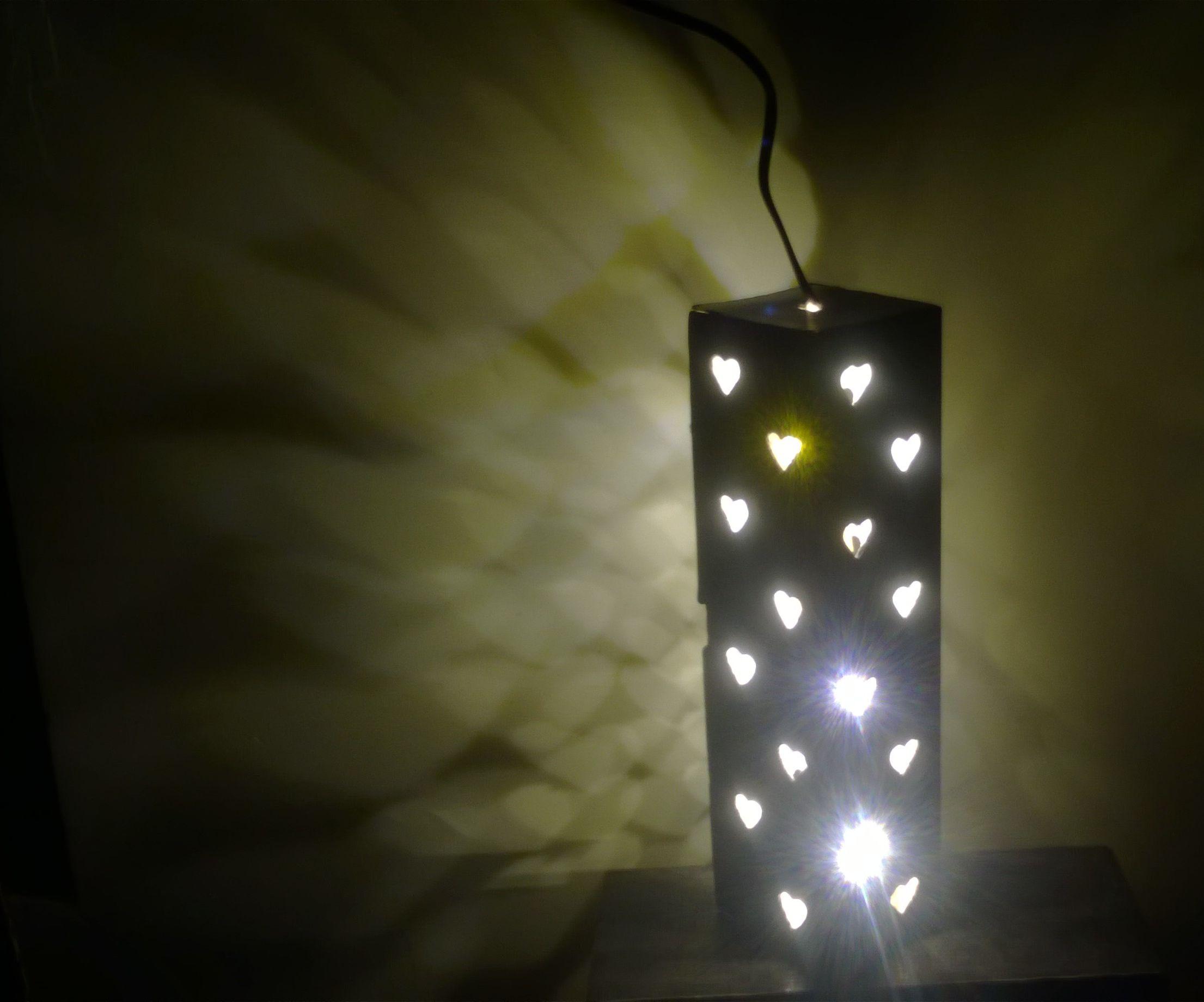 DIY Beautiful Night Lamp
